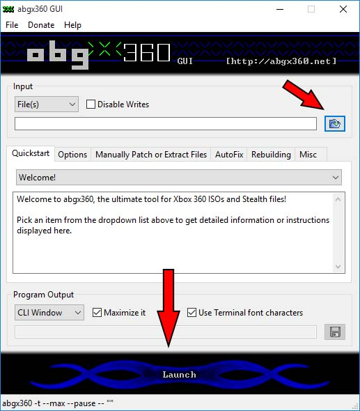 settaggi abgx360 1_ts