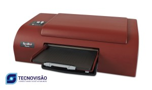 foto frontal da impressora braille e tinta