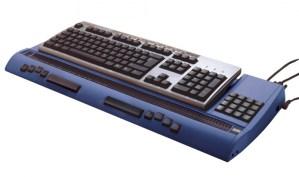 Linha star 80 com teclado qwerty sobre ela