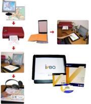 Vários desenhos demonstrando o equipamento