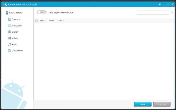 Easeus, archivos WhatsApp recuperados