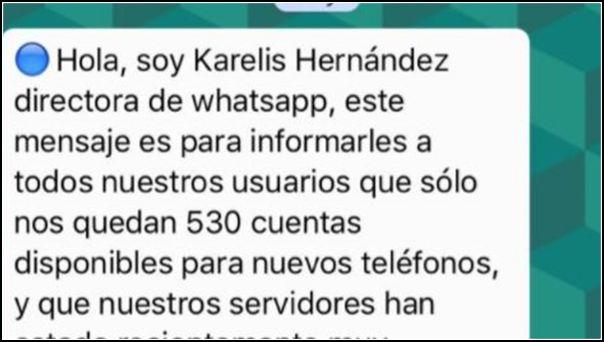 Kerelys Hernandez cadena WhatsApp