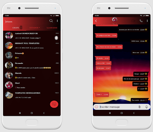 Tema nuevo WhatsApp