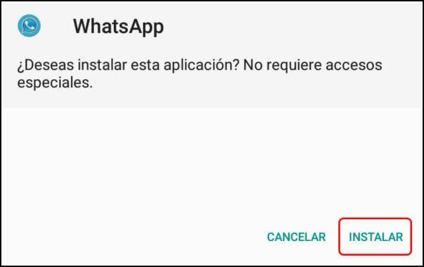 instalar AZ WhatsApp