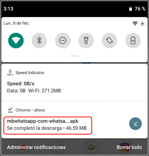 Descarga de APK MBwhatsapp