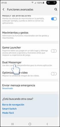 activar dual messenger