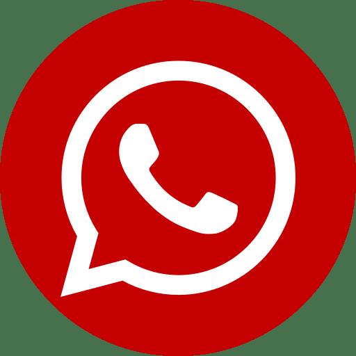 whatsapp rojo