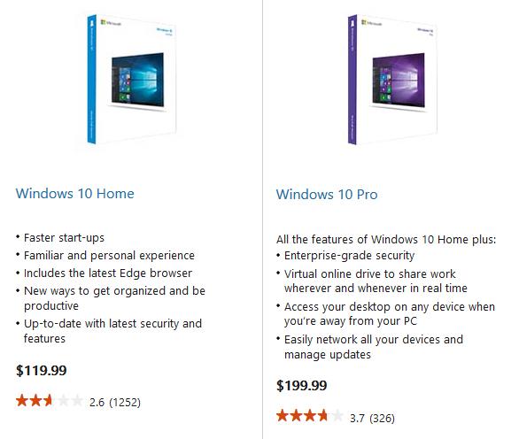 Donde comprar Windows 10