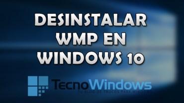 Cómo desinstalar Windows Media Player en Windows 10 1