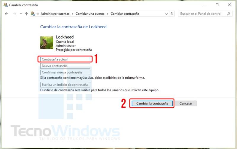 Cómo quitar la contraseña en Windows 10 2
