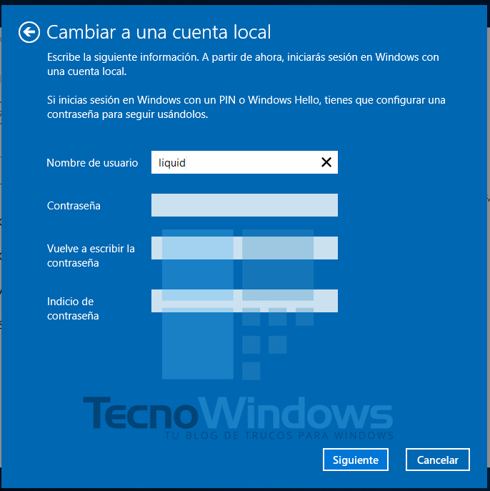 Cómo quitar la contraseña en Windows 10 6
