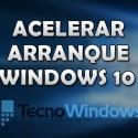 Cómo acelerar el arranque de Windows 10 4