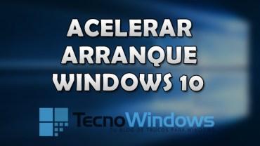 Cómo acelerar el arranque de Windows 10 2
