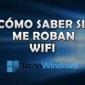 Cómo saber si me roban WiFi en Windows 10