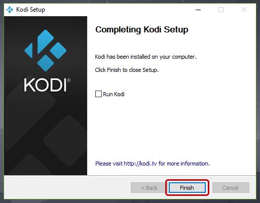 Cómo instalar Kodi en Windows 10
