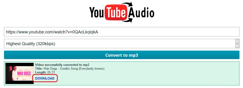 Youtube To Mp3 320kbps