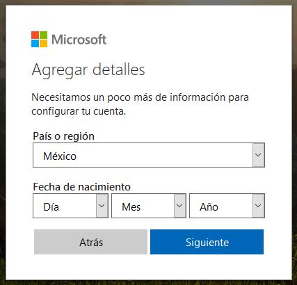 Cómo crear un correo electrónico Hotmail en 2018