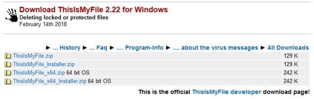 Cómo eliminar un archivo bloqueado en Windows 10