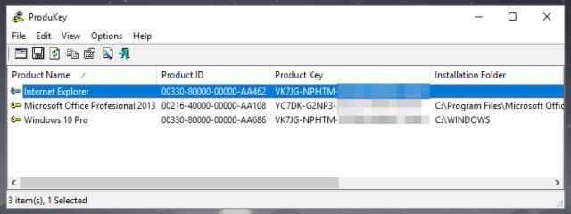 Cómo saber mi clave de Windows 10