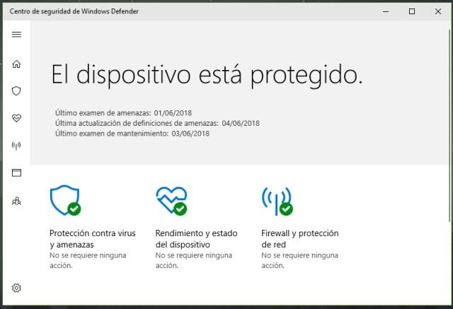 Restaurar icono de Windows Defender tras instalar otro antivirus