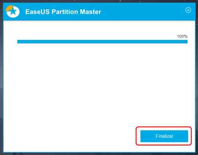 Crear una partición con EaseUS Partition Master Free