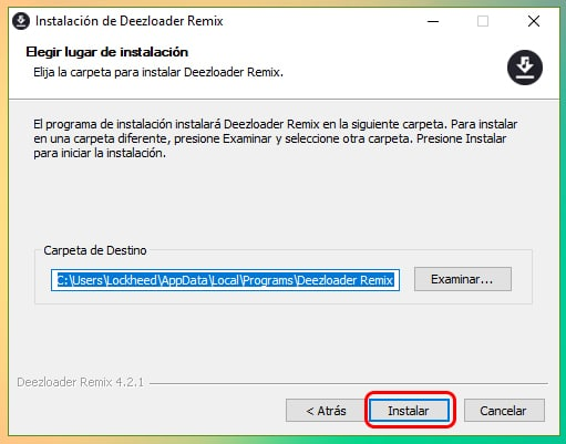 Descargar e instalar Deezloader Remix para Windows 10 (Abril 2019) 3