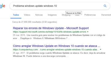 Windows 10 no funciona 2019: Solución