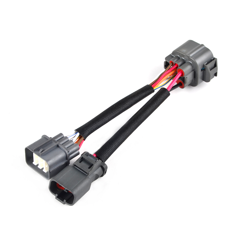 hight resolution of details about 10 pin obd1 to obd2 distributor adapter jumper harness for honda civic acura
