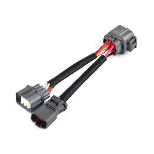 small resolution of details about 10 pin obd1 to obd2 distributor adapter jumper harness for honda civic acura