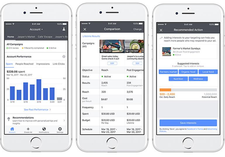 Facebook Ads Manager App