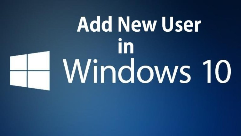 Add New User Windows 10