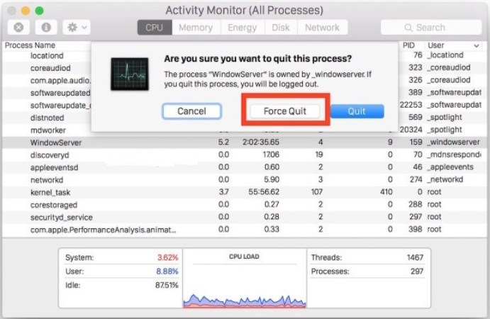 Force Quit Mac Apps - How to Force Quit Mac Applications