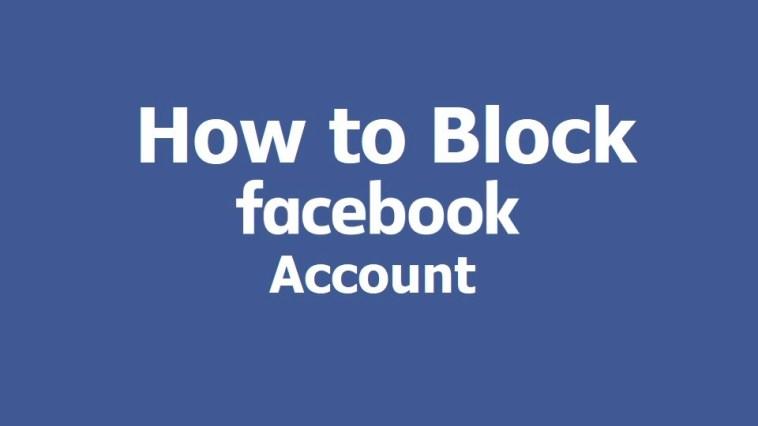 block facebook account
