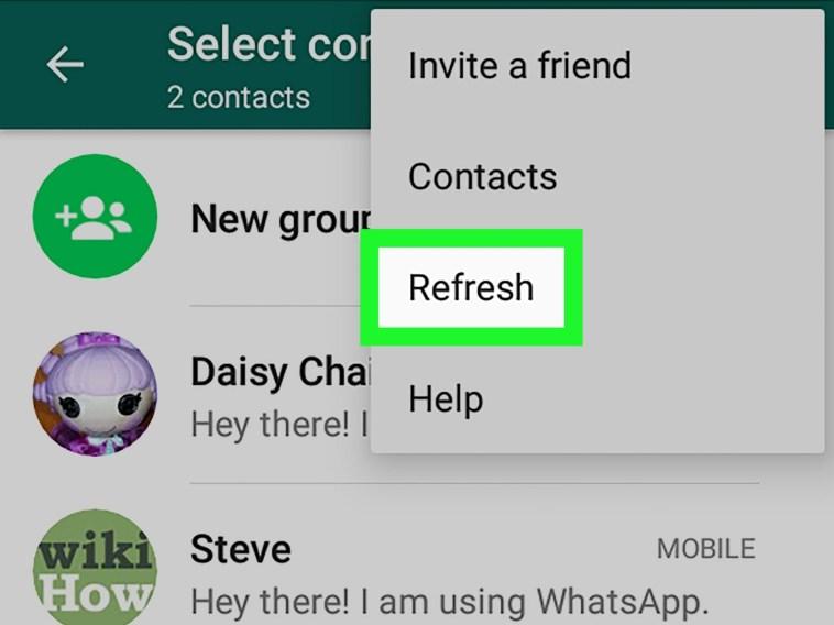 WhatsApp Contact Sync