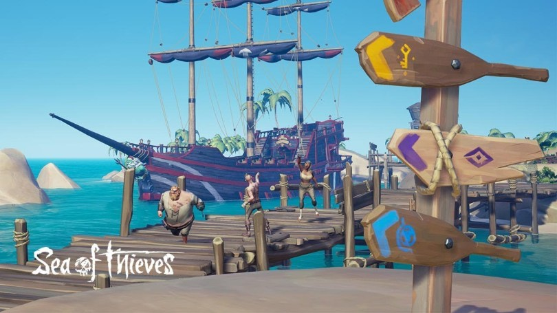 Sea of Thieves on Facebook Games
