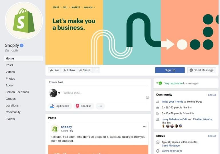 Facebook Selling App