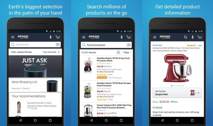 Amazon Mobile Website