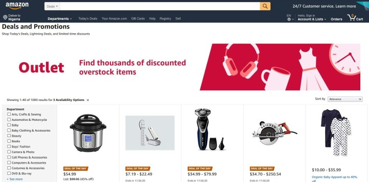 amazon online offers