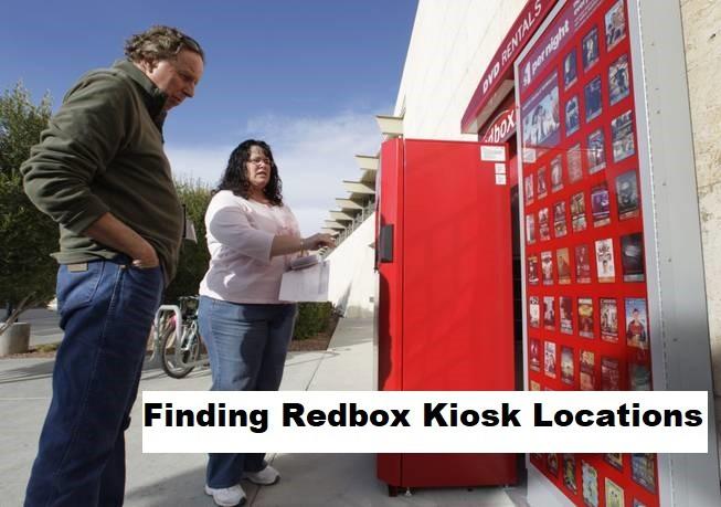 Find Redbox Kiosk Locations