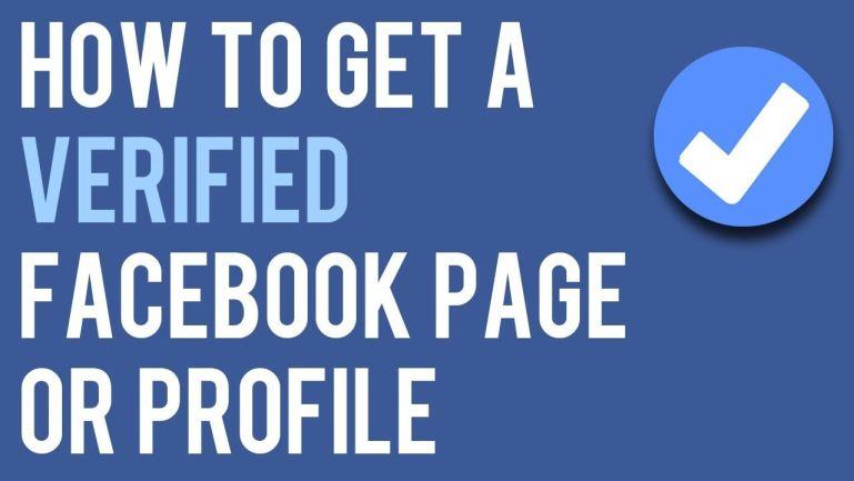 Verify Facebook Account