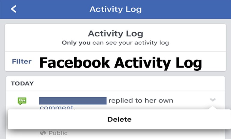 How to Hide Facebook Activity Log