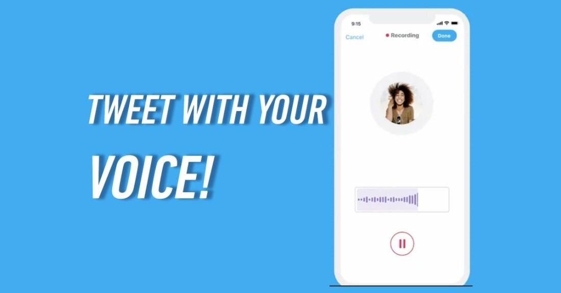 Get Twitter Voice Tweet Feature Free