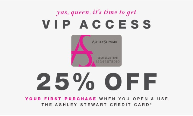 Ashley Stewart Credit Card Review