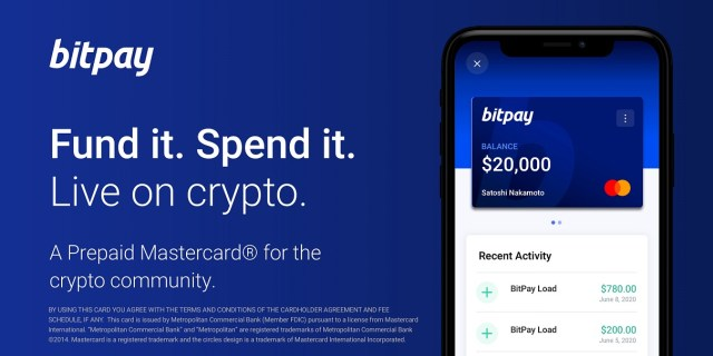 BitPay debit card now compatible with Apple Pay