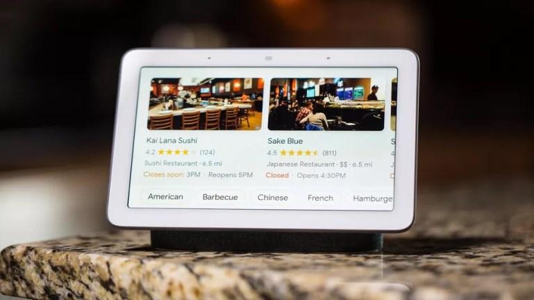 Google Smart Home Hub 2
