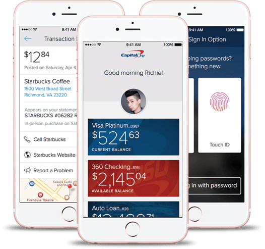 Capital One Credit Card App