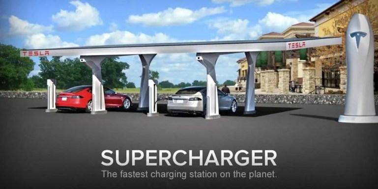 Tesla.Supercharger Map