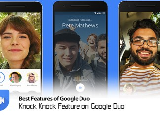 Knock Knock Feature on Google Duo