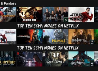 Top Ten Sci-Fi Movies on Netflix