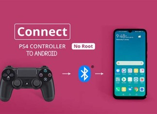 Connect PS4 Controller to Android